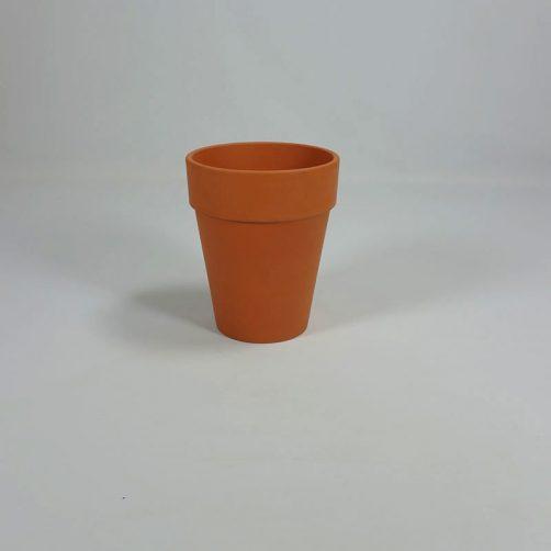 Terracotta pot Clematispot