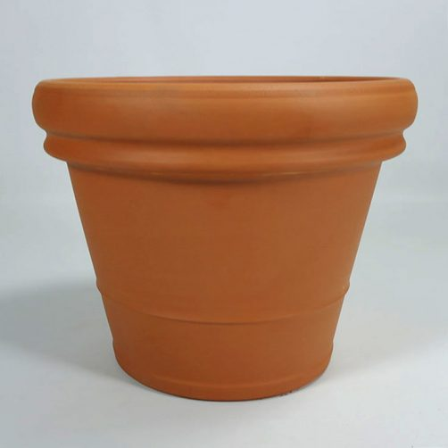 Terracotta pot Doppio Bordo