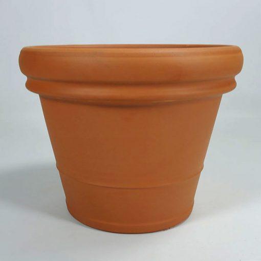 Terracotta pot Doppio Bordo