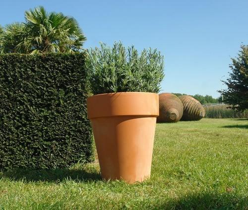 Terracotta pot Clematispot 26 centimeter