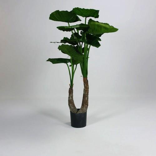 Kunstplant Alocasia 2 stam