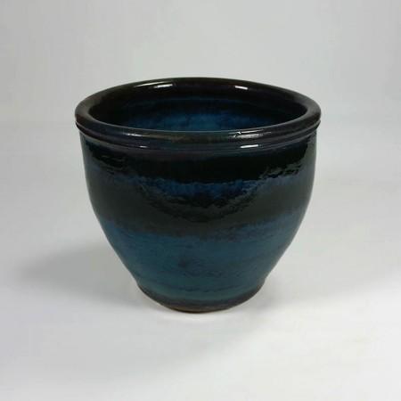 Blauwe pot Oceanblue L
