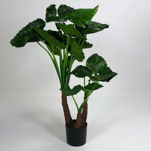 Kunstplant Alocasia 3 stam