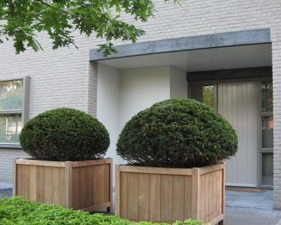 hardhout plantenbakken