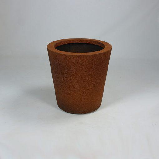 Ronde Cortenstaal plantenbak Leiria