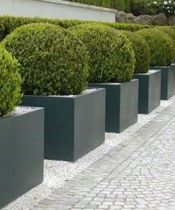 Antraciet Polyester Plantenbakken